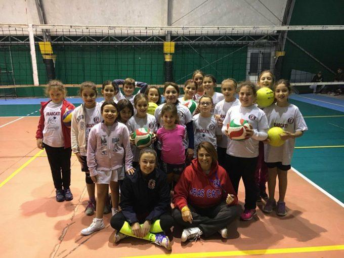 Volley Club Frascati, la Bastiani e il mini volley: «Abbiamo ragazze molto ricettive»