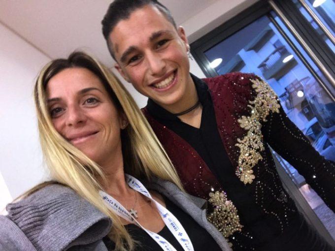 Asd Frascati Skating Club, Coltella sempre più internazionale: quinto in Coppa Europa