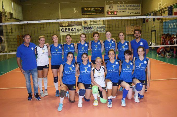 Pallavolo-Campionato regionale serie d femminile 4 giornata di andata