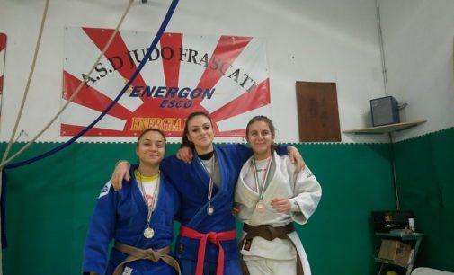 Asd Judo Frascati, tris di podi a Fabrica: Vivino prima, Guidi Blasi seconda e Van Bemmelen terza