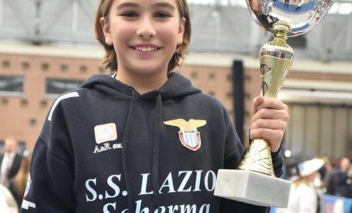 Maria Clara Quattrini (Lazio Scherma) oro nella prima prova nazionale Under 14