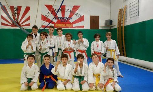 Asd Judo Frascati scatenato a Monterotondo: tanti ottimi piazzamenti dei giovani atleti tuscolani