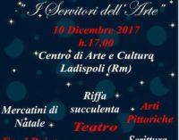 """Domenica 10 dicembre a Ladispoli è già Natale con """"I Servitori dell'Arte""""."""