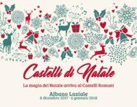 Albano Laziale, dall' 8 dicembre al 6 gennaio arriva Castelli di Natale