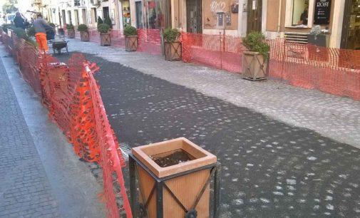 Albano Laziale, Via Cavour: sabato 2 dicembre la riapertura al traffico veicolare