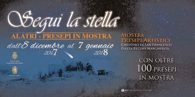 """""""Segui la Stella"""", i Presepi Artistici in mostra ad Alatri"""