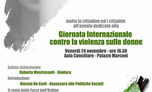 Frascati, un convegno per celebrare la Giornata internazionale sulla violenza contro le donne