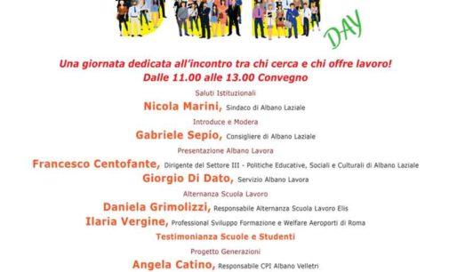Albano Laziale, il 24 novembre a Palazzo Savelli torna il Job Day