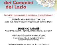 """A Genzano: """"Il Sistema dei Cammini del Lazio"""""""