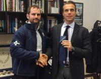 Lirfl (rugby a 13), Gentile a colloquio con il vice segretario del Coni Mornati: «Pakistan, che esperienza»
