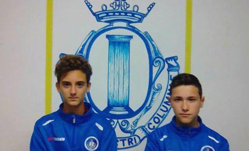 Ssd Colonna (calcio), Allegrini e Martinelli in Rappresentativa. Il club: «Premio al nostro lavoro»