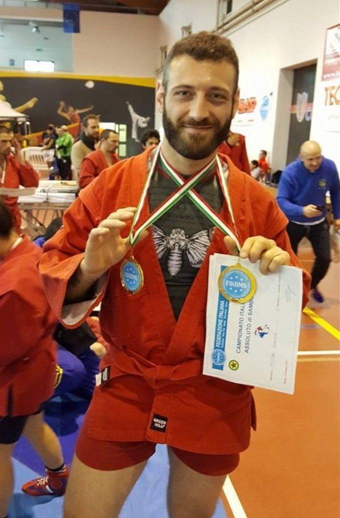 Campione italiano di Sambo 2017