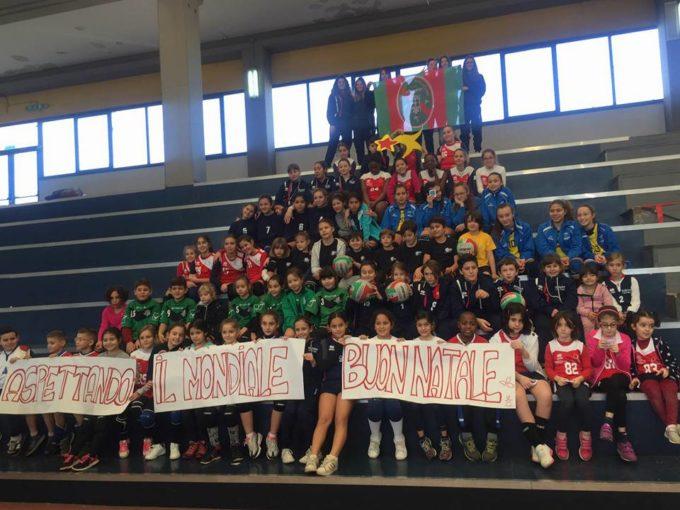 """Polisportiva Borghesiana, fine anno col botto per il minivolley con la festa """"in attesa del mondiale"""""""