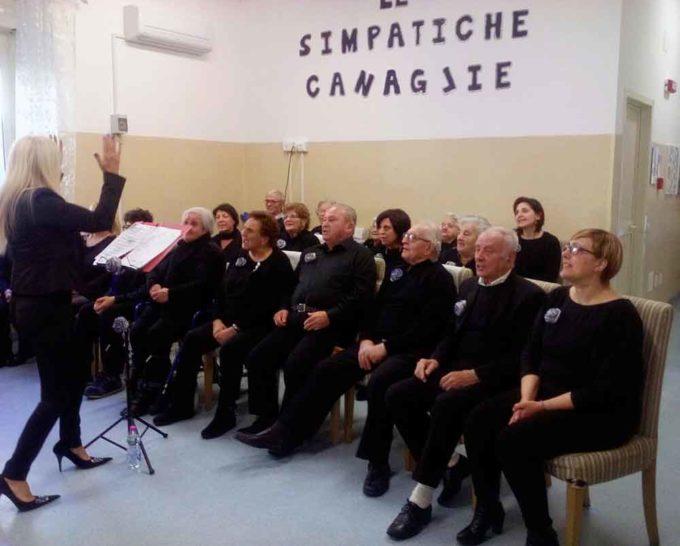 'Simpatiche Canaglie' in festa al Centro del Sollievo 'Gaspare Bruschini' di Cori