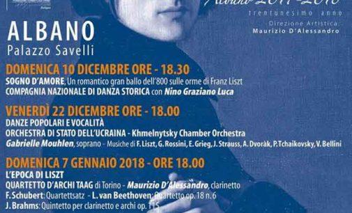 Albano Laziale, Festival Liszt a Palazzo Savelli l'Orchestra di Stato dell'Ucraina
