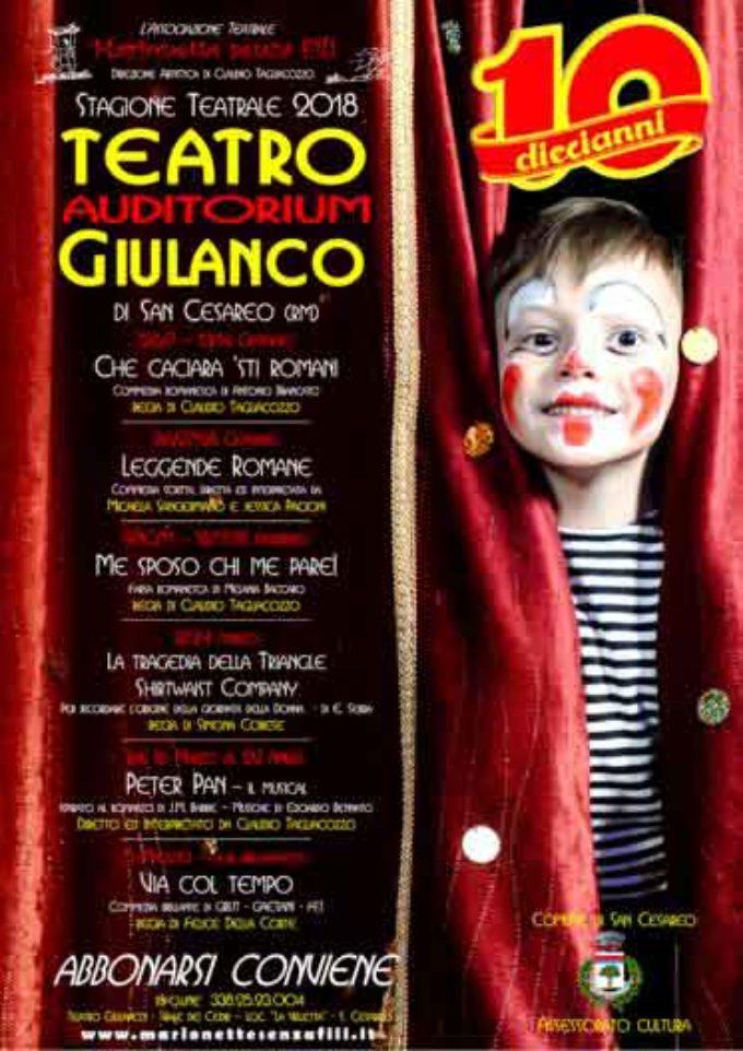 """A Natale regala la cultura con l'associazione teatrale """"Marionette Senza Fili"""""""