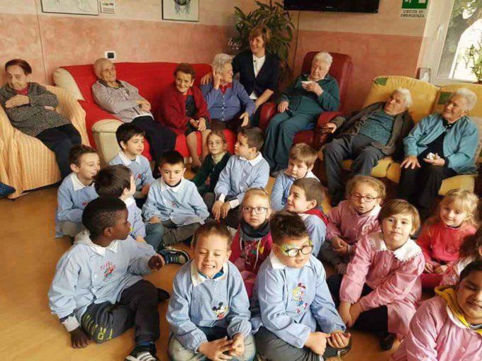 Cori – Anziani e Bambini … Testimoni di un Tempo