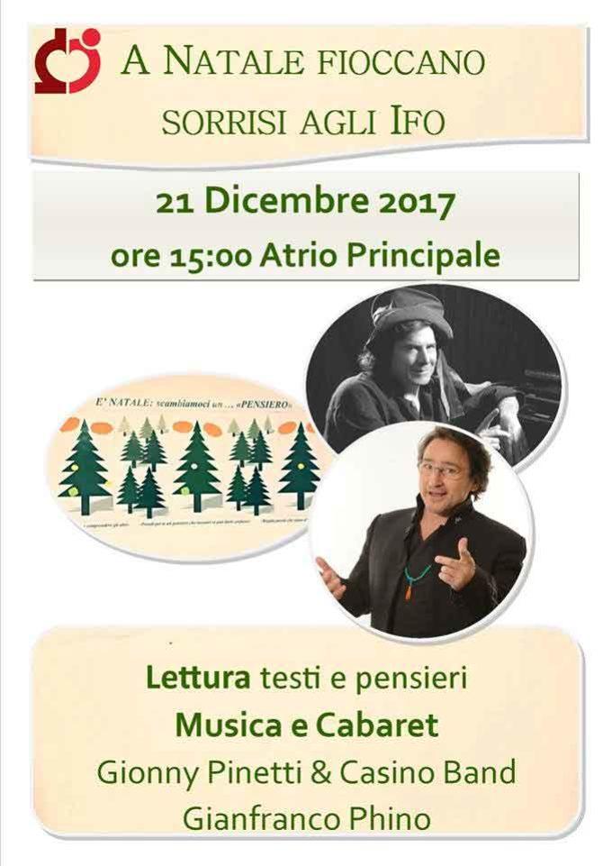"""""""A Natale fioccano sorrisi agli IFO"""""""