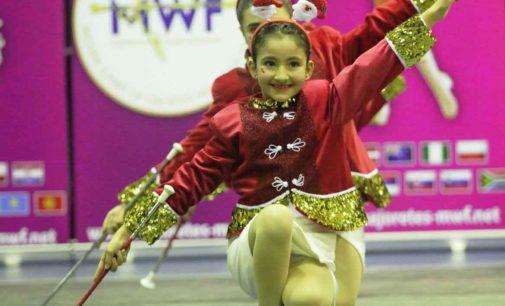 Frascati, il successo colorato e internazionale delle majorettes al Roma Christmas Magic