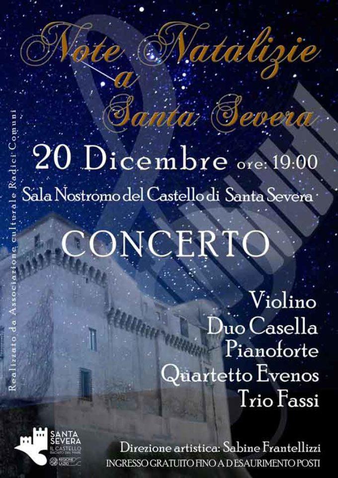 """Al Castello di Santa Severa  arriva """"Note Di Natale"""""""