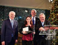 Il Premio Leonardo per la Musica a due strumentiste della JuniOrchestra dell'Accademia Nazionale di Santa Cecilia