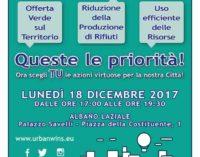 Albano Laziale, incontro pubblico sulla gestione dei rifiuti