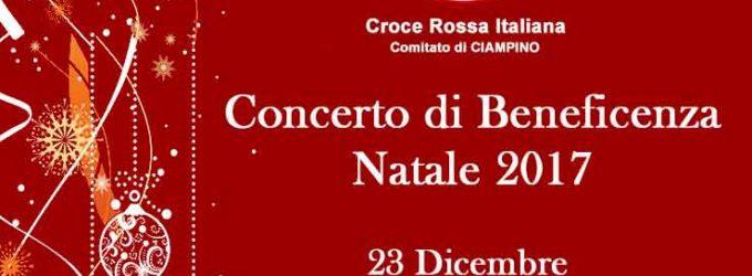 Ciampino, auguri di Natale in musica per sostenere la Croce Rossa Italiana