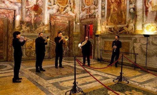 Albano Laziale, il Quintetto di Ottoni Santa Cecilia a Palazzo Savelli