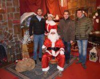 Lariano – Inaugurata la Casa di Babbo Natale