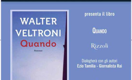 Walter Veltroni al Teatro Aurora di Velletri con la Mondadori Bookstore