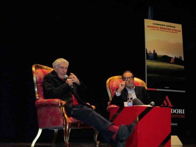 """Corrado Augias conquista Velletri: presentato """"Questa nostra Italia"""" con la Mondadori Bookstore"""