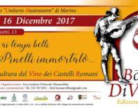 """""""Borghi Divini – Edizione Invernale""""  Storia e cultura del vino dei castelli romani"""