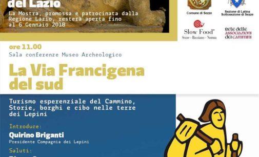 """Sezze – Inaugurazione mostra """"La Via della Misericordia del Lazio"""""""