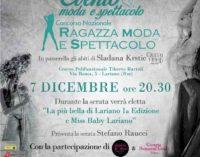 Grande evento di moda e spettacolo il 7 dicembre a Lariano