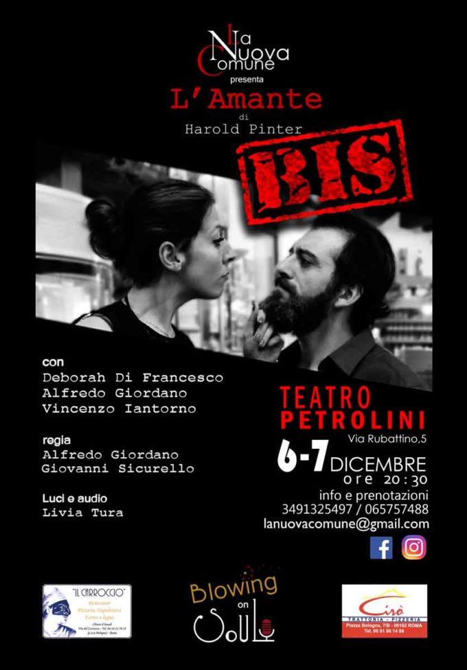 Teatro Petrolini – L'AMANTE