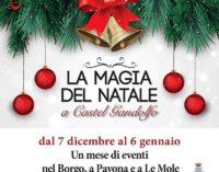 La magia del Natale a Castel Gandolfo