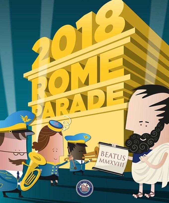 ROME NEW YEAR'S DAY PARADE   Lunedì 1 gennaio 2018 Ore 15,30  Piazza del Popolo, Roma  Accesso libero a tutti