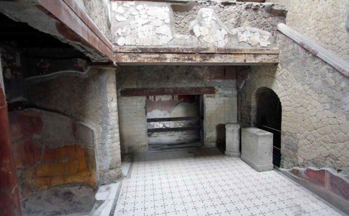 Il 2018 al Parco Archeologico di Ercolano  Ampliamento dell'offerta di visita