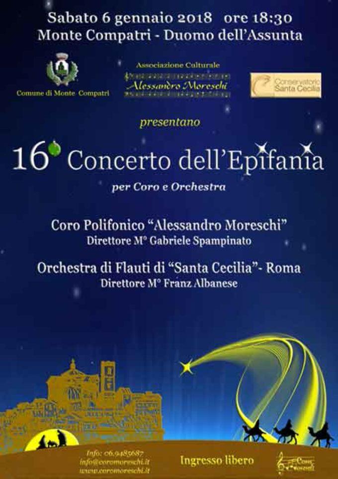 Monte Compatri – 16° Concerto dell'Epifania