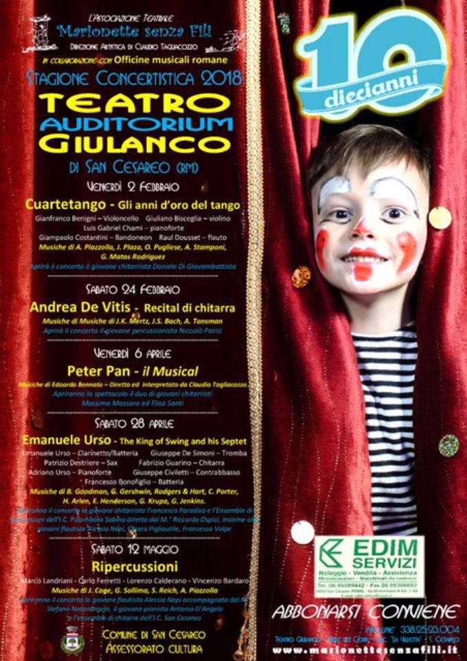 "LA GRANDE MUSICA AL TEATRO ""GIULANCO"""