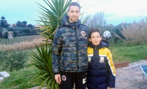 Fc Frascati, c'è un Ceccarelli anche nella Scuola calcio. Papà Fabio: «Qui Mattia è contento»