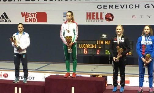 Frascati Scherma: per la Lucarini gran secondo posto nella prova di Coppa del Mondo Under 20