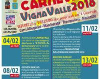 VignaValle, torna il divertimento del doppio Carnevale
