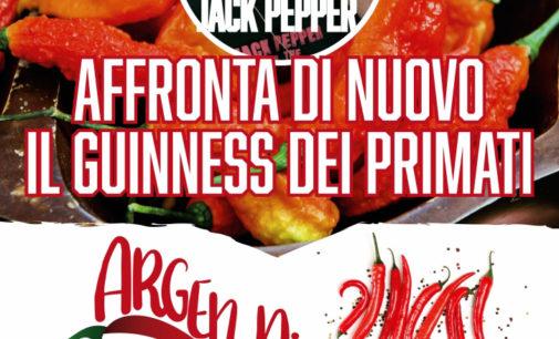 Jack Pepper  tenterà di nuovo a Tarquinia il Guinness Mondiale dei Primati