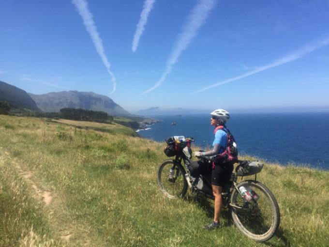 Palas e Vito in mountain bike sul Cammino di Santiago