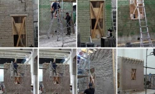 """Terremoti: edifici oltre due volte più resistenti con innovativo intonaco """"armato"""" made in Italy"""