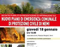 Nemi presenta il nuovo piano di emergenza comunale di protezione civile