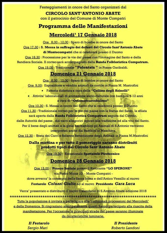 Monte Compatri – Sant'Antonio Abate