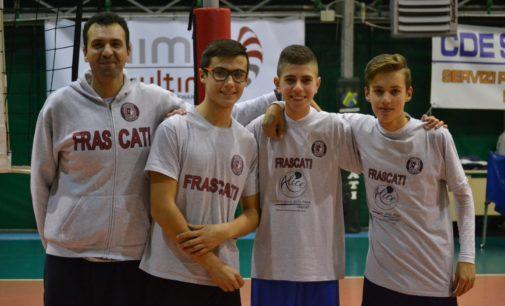 Volley Club Frascati, tre ragazzi convocati nella rappresentativa Cqt. De Gregorio: «Che orgoglio»