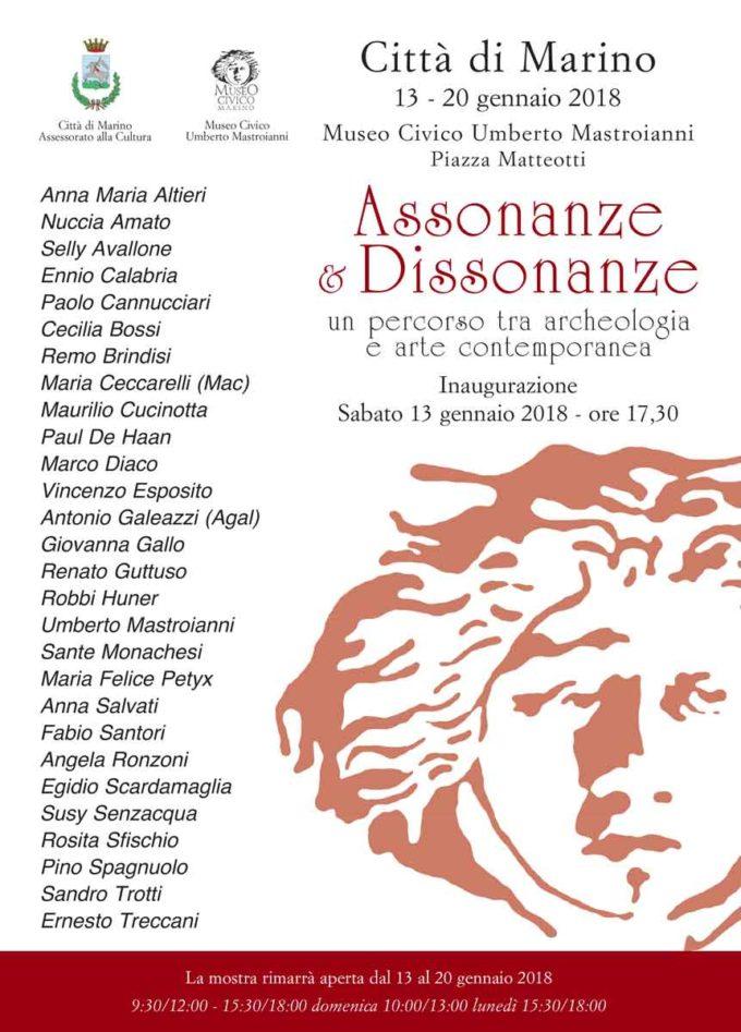 Due mostre parallele al Museo Civico di Marino 12 -20 gennaio 2018